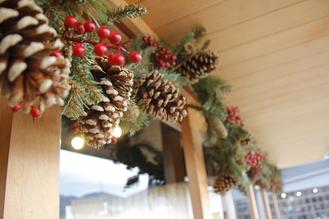 クリスマス フラワーレッスン☆:写真