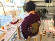 marimekkoのデコパージュ ワークショップ*2018.08.05