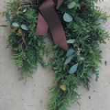12/1(日) 馬蹄型クリスマスリース:写真