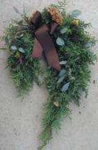 12/1(日) 馬蹄型クリスマスリース