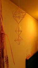1/5(日)北欧フィンランドの伝統装飾『ヒンメリ』ワークショップ:写真